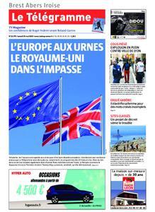 Le Télégramme Brest Abers Iroise – 25 mai 2019
