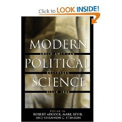 Modern Political Science: Anglo-American Exchanges.