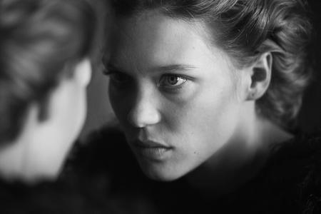 Lea Seydoux by Peter Lindbergh for Interview Magazine September 2014