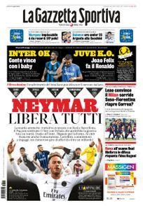 La Gazzetta dello Sport – 11 agosto 2019