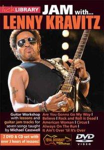Lick Library - Jam With Lenny Kravitz - DVD/DVDRip (2013) [Repost]