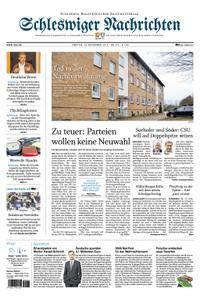 Schleswiger Nachrichten - 24. November 2017