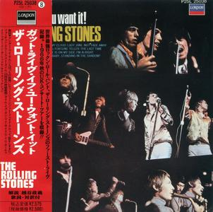 The Rolling Stones - Got Live If You Want It! (1966) [1989, Japan, NP25L 25038]
