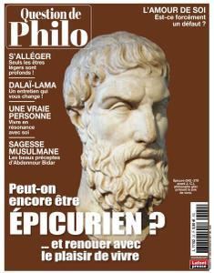 Question de Philo - Juillet-Septembre 2021