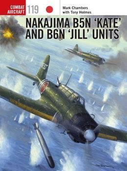 """Nakajima B5N """"Kate"""" and B6N """"Jill"""" Units (Osprey Combat Aircraft 119)"""