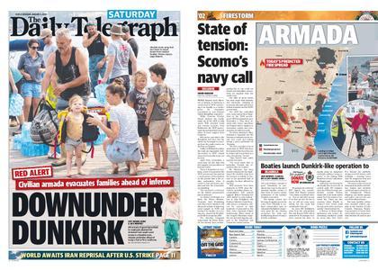 The Daily Telegraph (Sydney) – January 04, 2020