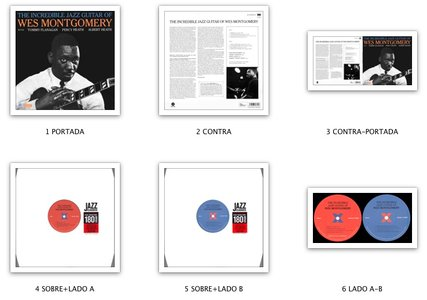 Wes Montgomery - The Incredible Jazz Guitar Of Wes Montgomery (LP