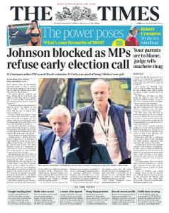 The Times - 5 September 2019