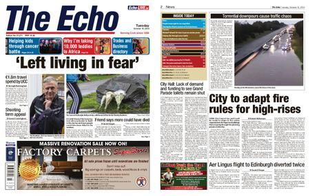 Evening Echo – October 15, 2019