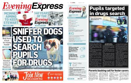 Evening Express – January 21, 2019