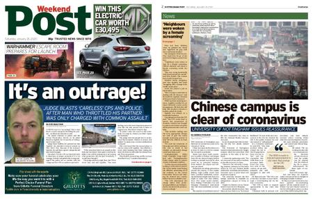 Nottingham Post – January 25, 2020