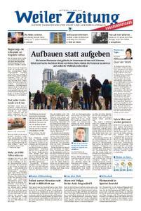Weiler Zeitung - 17. April 2019
