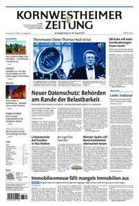 Kornwestheimer Zeitung - 25. August 2018