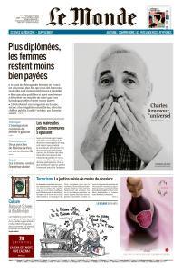 Le Monde du Mercredi 3 Octobre 2018