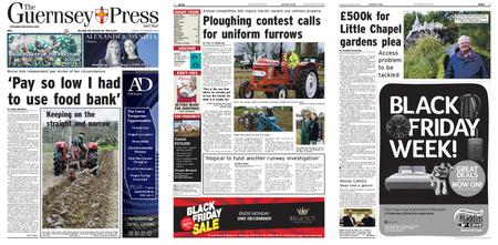 The Guernsey Press – 25 November 2019