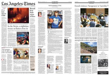 Los Angeles Times – September 07, 2020