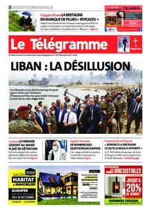 Le Télégramme Ouest Cornouaille – 10 octobre 2020