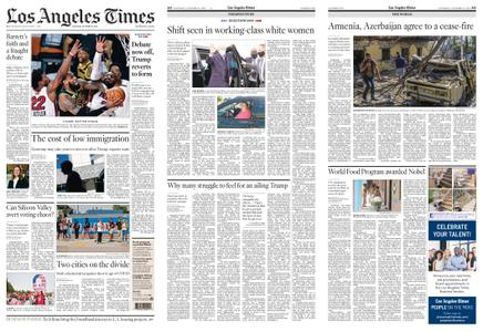 Los Angeles Times – October 10, 2020