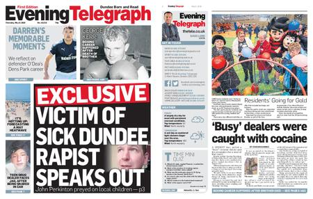 Evening Telegraph First Edition – May 09, 2019