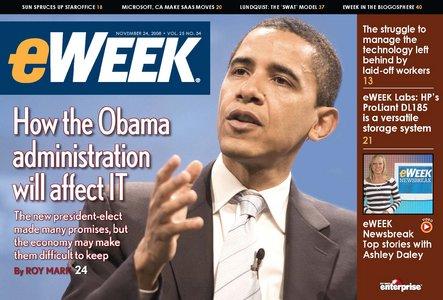 eWeek Magazine 24 Nov 2008