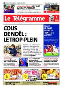 Le Télégramme Landerneau - Lesneven – 17 décembre 2020