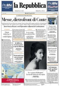 la Repubblica - 28 Aprile 2020