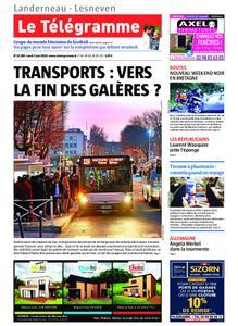 Le Télégramme Landerneau - Lesneven – 03 juin 2019