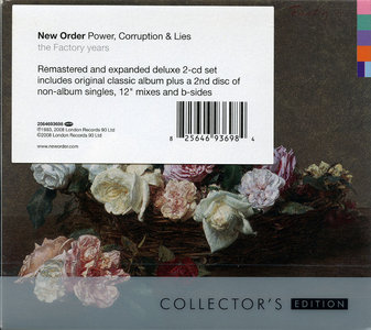 New Order - Power, Corruption & Lies (1983) 2CD Collector's Remastered Edition 2008 [Correct Reissue 2009]