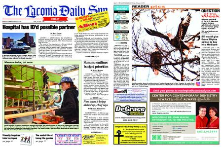 The Laconia Daily Sun – February 15, 2019