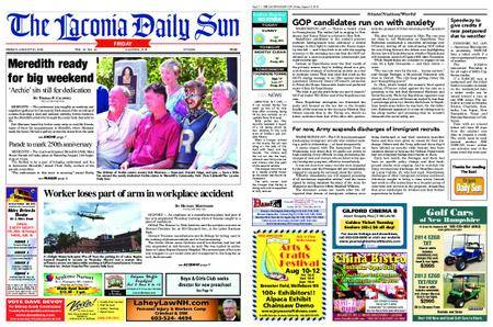 The Laconia Daily Sun – August 10, 2018