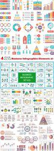Vectors - Business Infographics Elements 47