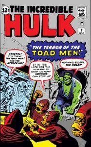 Incredible Hulk 002 1962 Digital