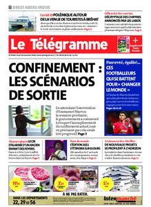Le Télégramme Brest Abers Iroise – 19 novembre 2020