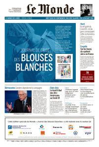 Le Monde du Vendredi 10 Avril 2020