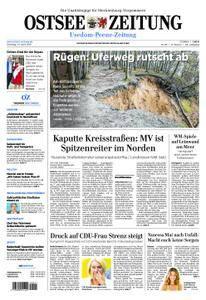 Ostsee Zeitung Wolgast - 24. April 2018