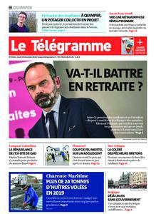 Le Télégramme Quimper – 19 décembre 2019