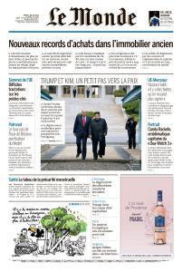 Le Monde du Mardi 2 Juillet 2019