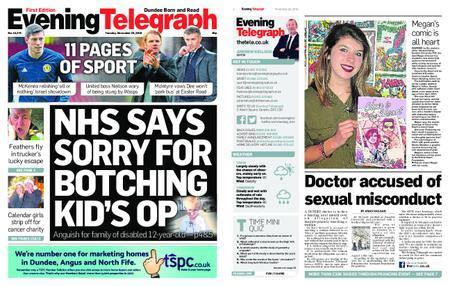 Evening Telegraph First Edition – November 20, 2018