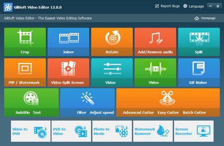 GiliSoft Video Editor 12.0.0 Multilingual Portable