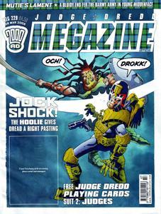 Judge Dredd Megazine 229 2005 Antscan