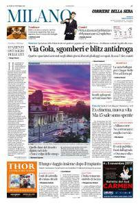 Corriere della Sera Milano - 30 Ottobre 2017