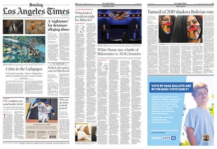 Los Angeles Times – October 18, 2020