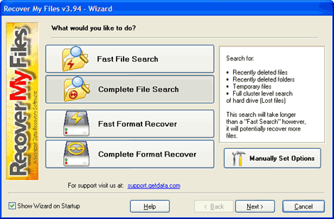 Recover My Files 3.9.8.5658