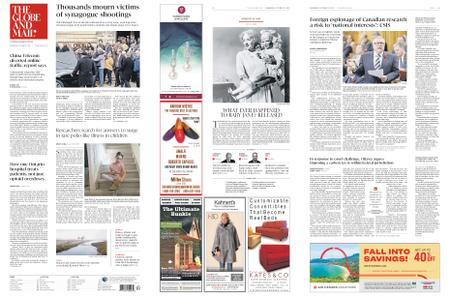 The Globe and Mail – October 31, 2018