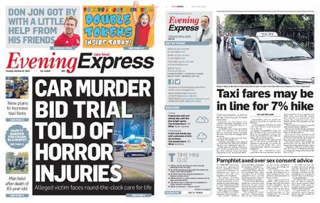 Evening Express – October 22, 2019