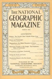 National Geographic March 1913