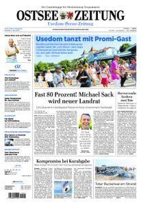 Ostsee Zeitung Wolgast - 11. Juni 2018