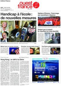 Ouest-France Édition France – 11 juin 2019
