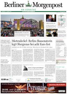Berliner Morgenpost – 25. August 2019