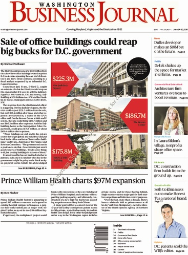 Washington Business Journal 2011.06.24